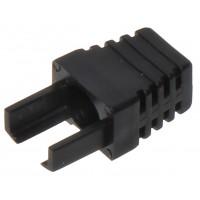 Interne kabel huls zwart (RJ45 boot) voor RJ45 connector